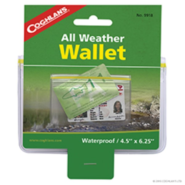 Billetera impermeable, All Weather wallet, Coghlans