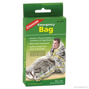 bolsa aluminizada de emergencia Emergency bag
