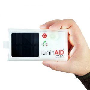 Luz inflable solar LuminAID