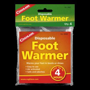 Calentadores de pies, Foot Warmer 4 pck, Coghlans