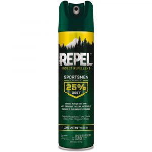 Repelente Sportmen aerosol 25% Deet, Repel