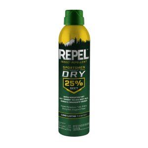Repelente de insectos Sportsmen Dry 25% Deet, Repel
