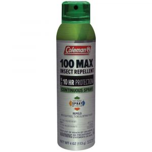 Repelente de insectos 100% Deet max spray , Coleman