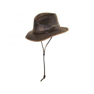Sombrero Australiano encerado MC254, unisex, Dorfman pacific