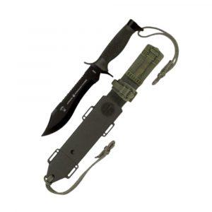 Cuchillo Armada Sawback con funda dura Fury