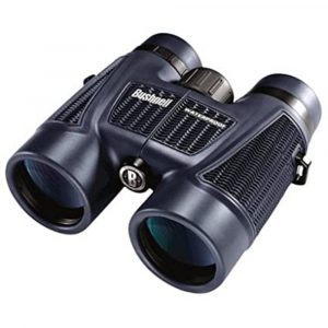 Binoculares 8x42 H2O Impermeables, negro, Bushnell