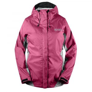 Chaqueta impermeable mujer con membrana, Free Rein, Red ledge