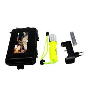 Linterna Led recargable T6 a prueba de agua, Basic
