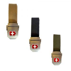Cinturón Táctico con hebilla metálica, Victorinox, unisex.